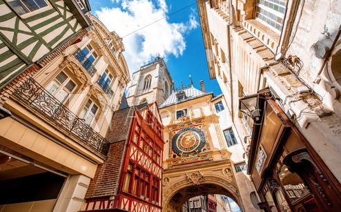 Visite du Gros Horloge Rouen Normandie